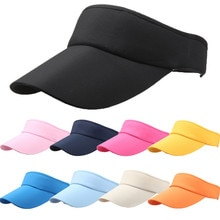 Outdoor Sports Hat Tennis Caps Men Women Adjustable Sport Headband Classic Sun Sports Visor Hat Runn