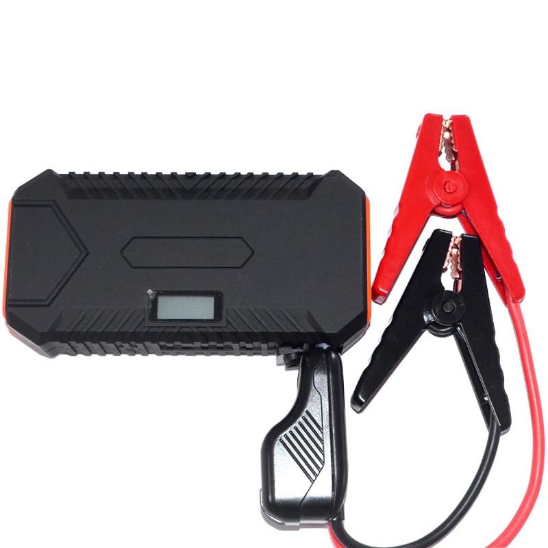 Banco de arranque de emergencia para coche, fuente de alimentación 12v, cargador portátil, batería externa para Mi Powerbank, pantalla Digital LED