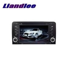 Liandlee voiture multimédia TV GPS Audio Hi-Fi Radio stéréo pour AUDI A3 8P 2003 ~ 2013 Style dorigine Navigation NAVI