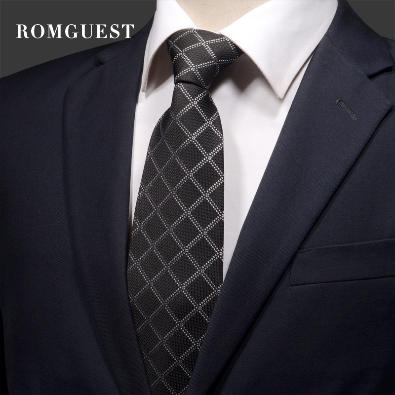 2020 High Quality Brand New Fashion Formal Suit Business Work Striped 9cm Necktie Wedding Party Tie for Men Ties with Gift Box