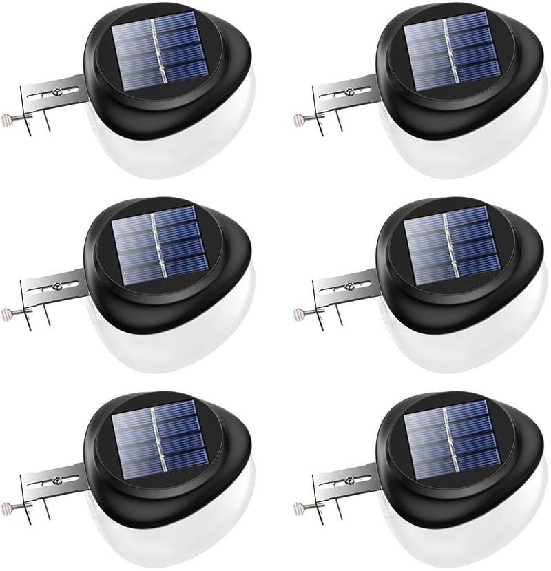 9 LEDs Heart-shaped Solar Lamp Outdoors Waterproof 400LM Solar Light Solar Power Light for Garden Yard Pathway Fence Gutter