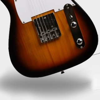 Pickup Electric Guitars High Quality Travel Semi Hollow Guitar Portable Professional Guitarra Electrica Musical Instruments DE50 enlarge