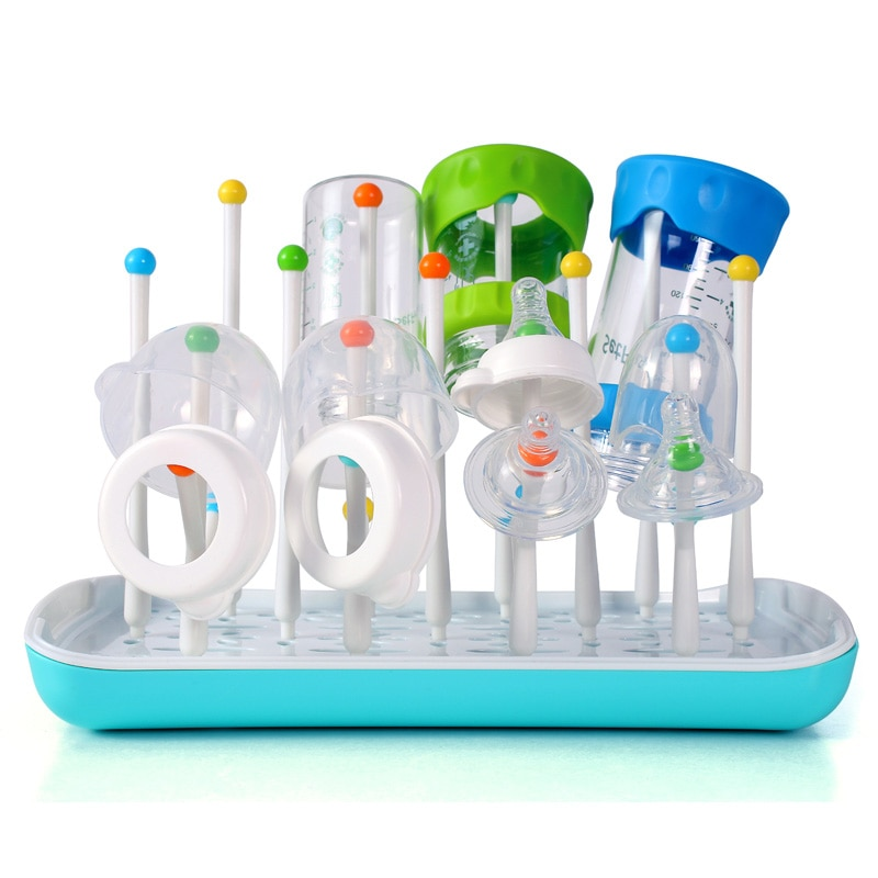 купить Baby Feeding Bottle Dryer Stand for Bottles Botellero Baby Bottle Drying Rack Storage Etendoir A Linge Infant Milk Nipple Dryer в интернет-магазине