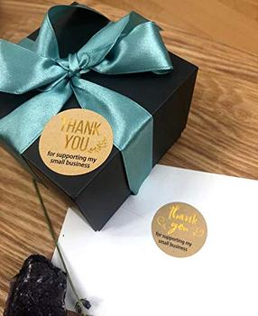 500pcs Thank You for Supporting My Samll Business Kraft Paper 2