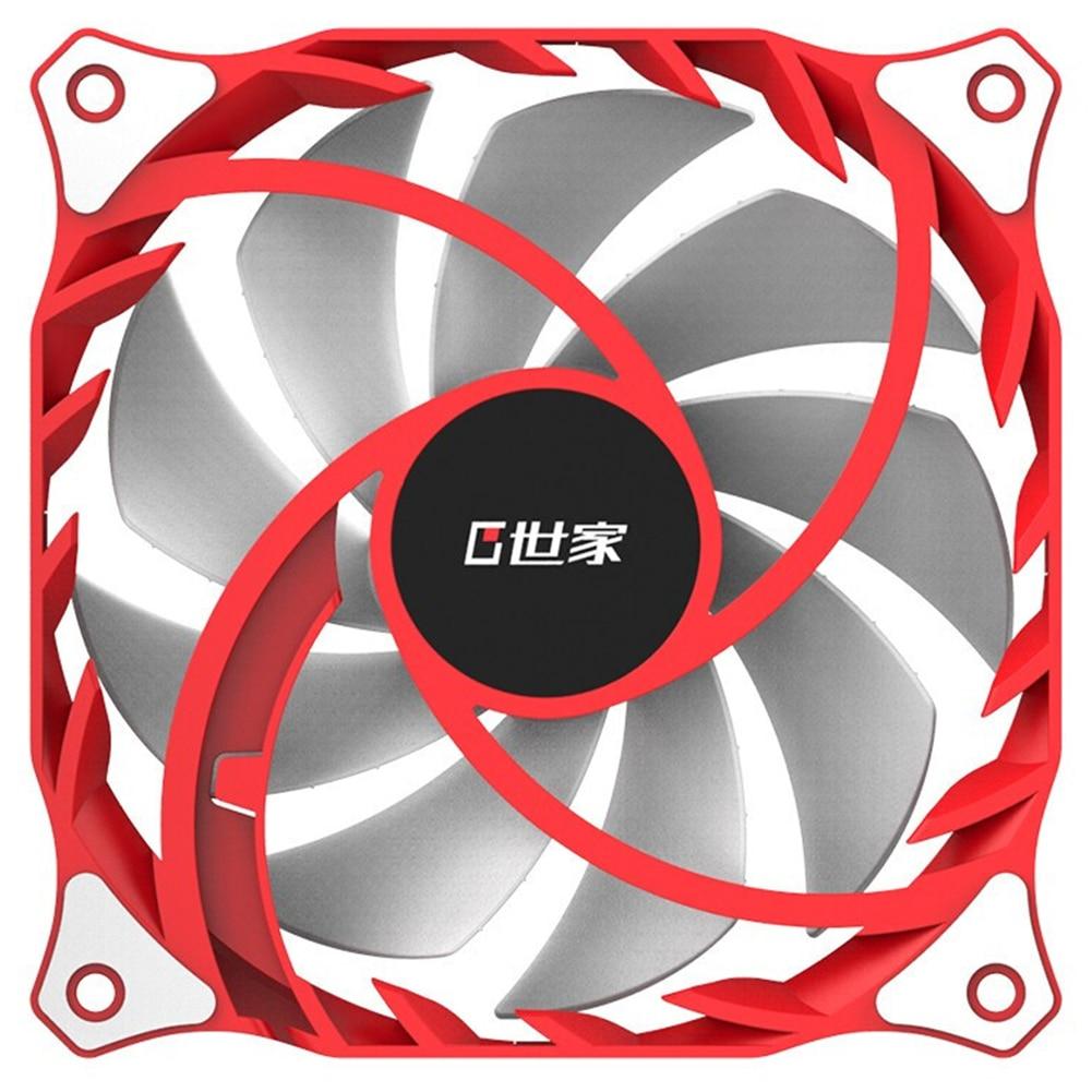 FR120W 120mm Ruhig Chassis Lüfter DC 12V 4 Pin Stille Kühlkörper Kühlung Kühler Silent Lüfter für Computer PC Fall