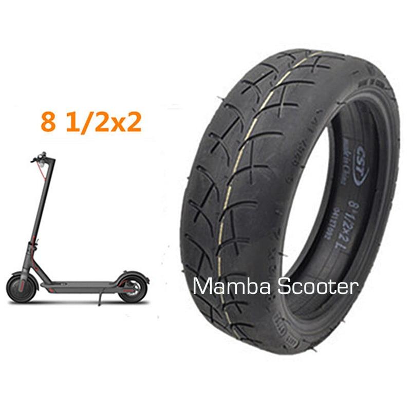 Neumáticos originales mejorados para patinete eléctrico Xiaomi Mijia M365, ruedas inflables de tubo interno, CST 8 1/2X2