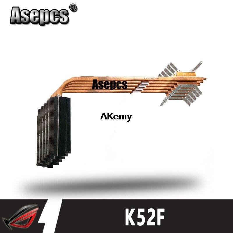 مروحة تبريد أصلية من Akemy للكمبيوتر المحمول For Asus مبرد وحدة المعالجة المركزية K52 K52F A52F X52F P52F وحدة تبريد وحدة المعالجة المركزية