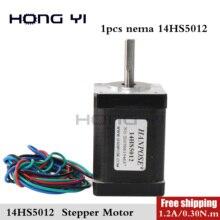 Mini motor 4-lead Nema 14 Stepper Motor 50mm 1.2A 0.30N.m 35*50mm Motor Nema14 Stepper for DIY 3D Printer CNC XYZ