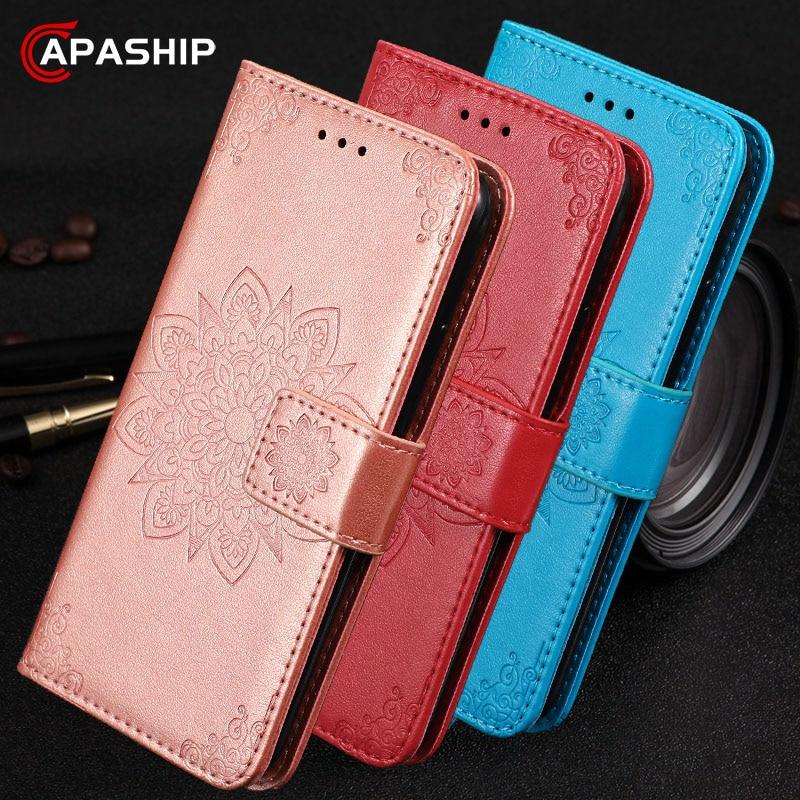 Funda de cuero con flores para Samsung Galaxy S8 S9 S10, funda para Samsung Note 8 9 10 Plus, funda de piel sintética S10 5G, fundas para teléfono, libro