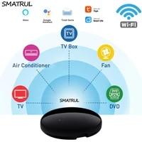 SMATRUL     telecommande universelle a infrarouge  wi-fi  pour climatiseur  TV  DVD  Smart Life  Alexa  Google Home