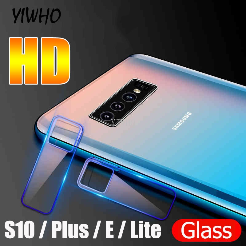 1-3 Pcs Camera Lens Film for Samsung Galaxy S10 Plus Tempered Glass Protective Camera Glas On The For Samsung S10E S 10 S10Plus
