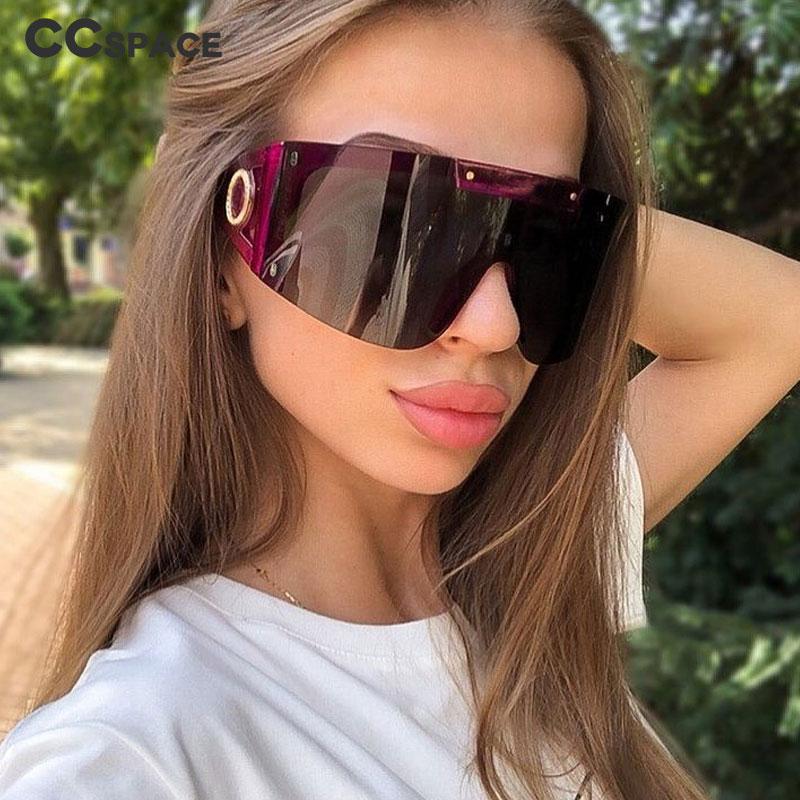deal with it sun glasses one piece sunglasses men women black bar silver goggle for fashion party oculos de sol feminino 2021 Oversized Luxury Goggle Sunglasses Men Women Fashion Shades UV400 Vintage Glasses oculos de sol feminino