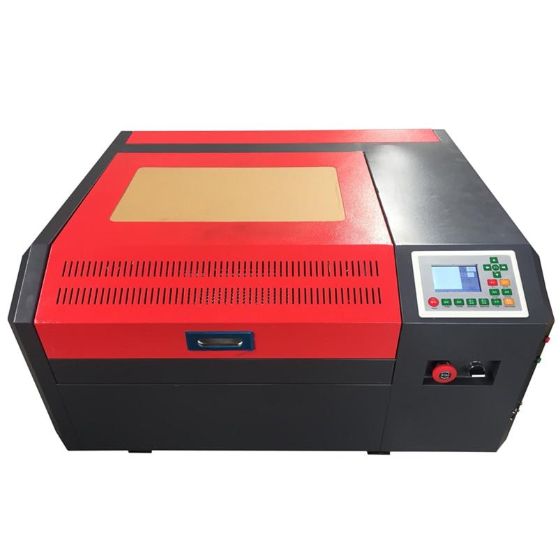 CO2 машина 50 Вт CO2 лазерный гравировальный станок 4040 40 Вт CO2 лазерный резак для резки акрила бумаги кожи