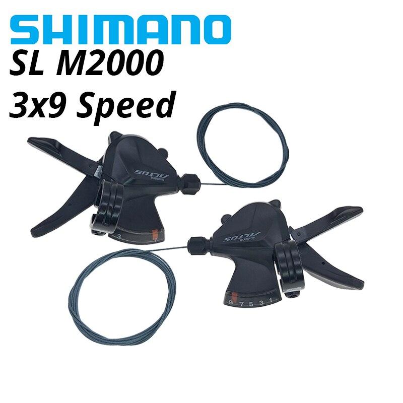 SHIMANO Altus SL-M2000 3x9s 27 Speed bike Schalthebel Trigger MTB Fahrrad Shifter Hebel Trigger