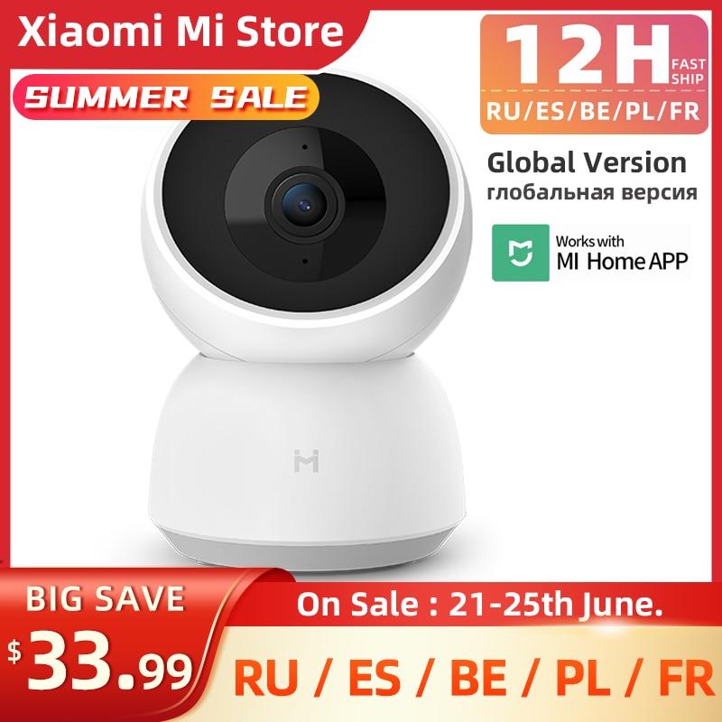 видеокамера xiaomi mi 360° home security camera 2k белый Xiaomi IMILAB Camera 2K WiFi Camera MI Home Security Camera CCTV Vedio Surveillance Camera Baby Monitor Global Version