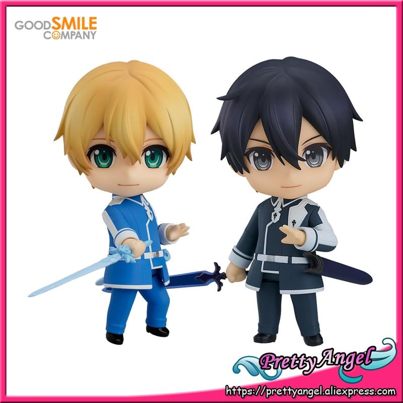 PrettyAngel genuino Good Smile empresa GSC espada arte Online Alicization Eugeo Kirito Elite espadachín figura de acción