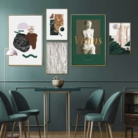 Affiche de mode Venus geometrique abstraite  toile imprimee  peinture  images murales dart pour salon  decor mural de maison