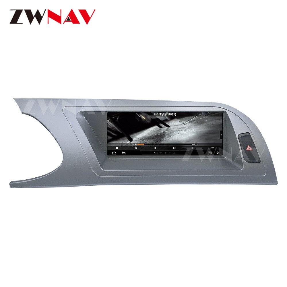 Reproductor Multimedia para coche Android 9,0 con pantalla táctil para Audi A4 A4L A5 B8 8K 2009-2014 GPS para coche navi Audio Radio estéreo unidad principal Wifi