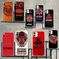 cutewanan hot defqon 1 on selllovely phone case cover shell for iphone 11 pro xs max 8 7 6 6s plus x 5s se 2020 xr cover
