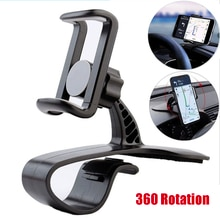 Car Dashboard Mount Phone Holder Stand Clip on Cradle Universal Cell Phone GPS Support Clip Bracket