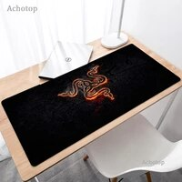 razer mouse pad anime gaming accessories large mousepad gamer pc computer keyboard desk mat tappetino valorant rug xxl mousemat