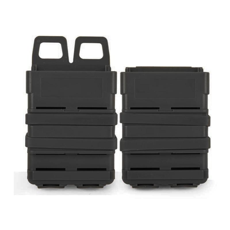 5.56 Fast Mag Magazine sakiewka torba typu worek zestaw torebek System MOLLE kabura polowanie ABS Fastmag dla M4 MAG Heavy