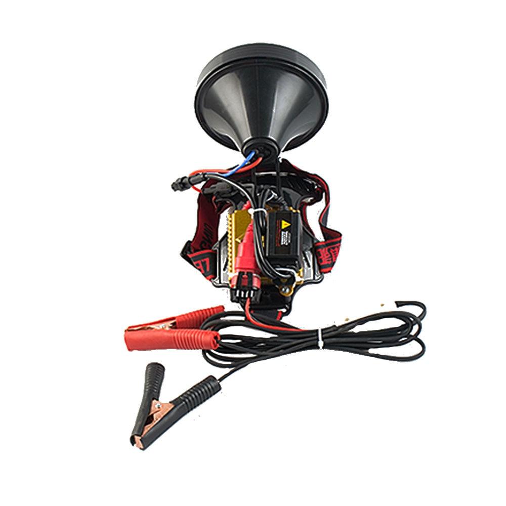 High power 220W xenon headlight strong light long-shot160W HID headlamp high quality ABS waterproof 100W headlights enlarge