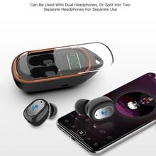 X21s TWS Bluetooth5.0 True In Ear Wireless Earphones Sport IPX5 Waterproof Earbuds Gaming Headset LED Display with Charging Case