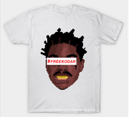 Free-Kodak-Black-T-shirt-hip-hop-music-project-baby-sizes-small-3xl-kodakNew a la moda para hombre