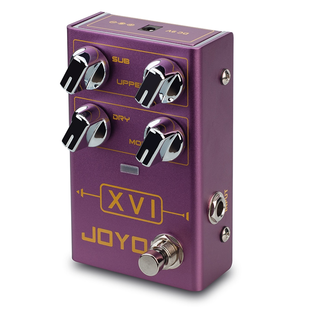 JOYO R-13 XVI Octave Electric Guitar Effects Pedal With MOD Modulation True Bypass Bass Parts and Accessories Guitar Pedal enlarge