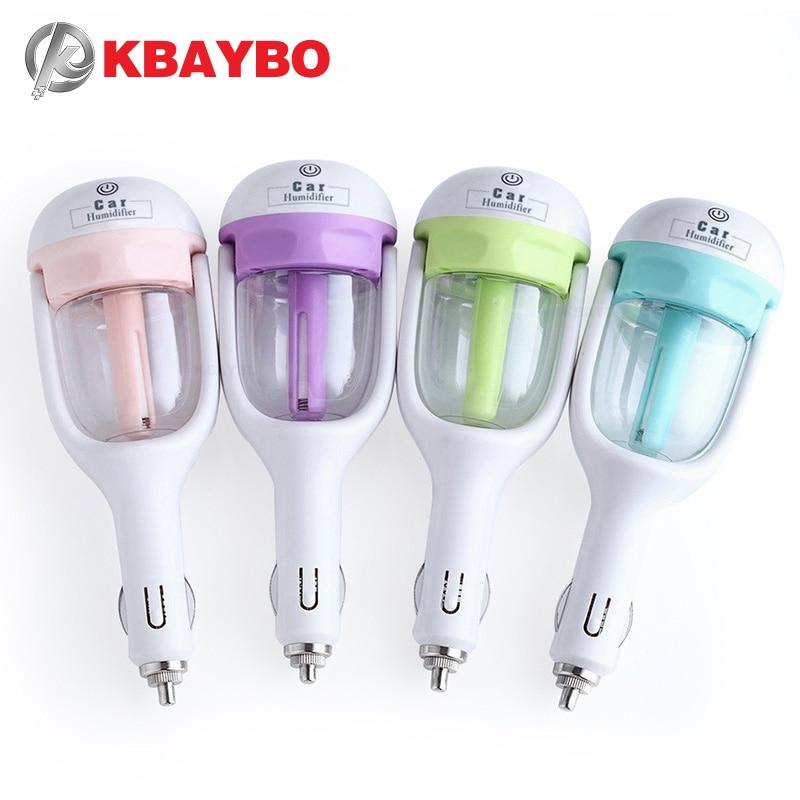 Автомобильный паровой увлажнитель KBAYBO, 12 В, очиститель воздуха, аромадиффузор, диффузор эфирного масла, ароматерапия, генератор тумана, рас...