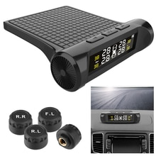 Car TPMS Tyre Pressure Monitoring System Tyre Pressure Auto Security Alarm Systems Digital LCD Displ