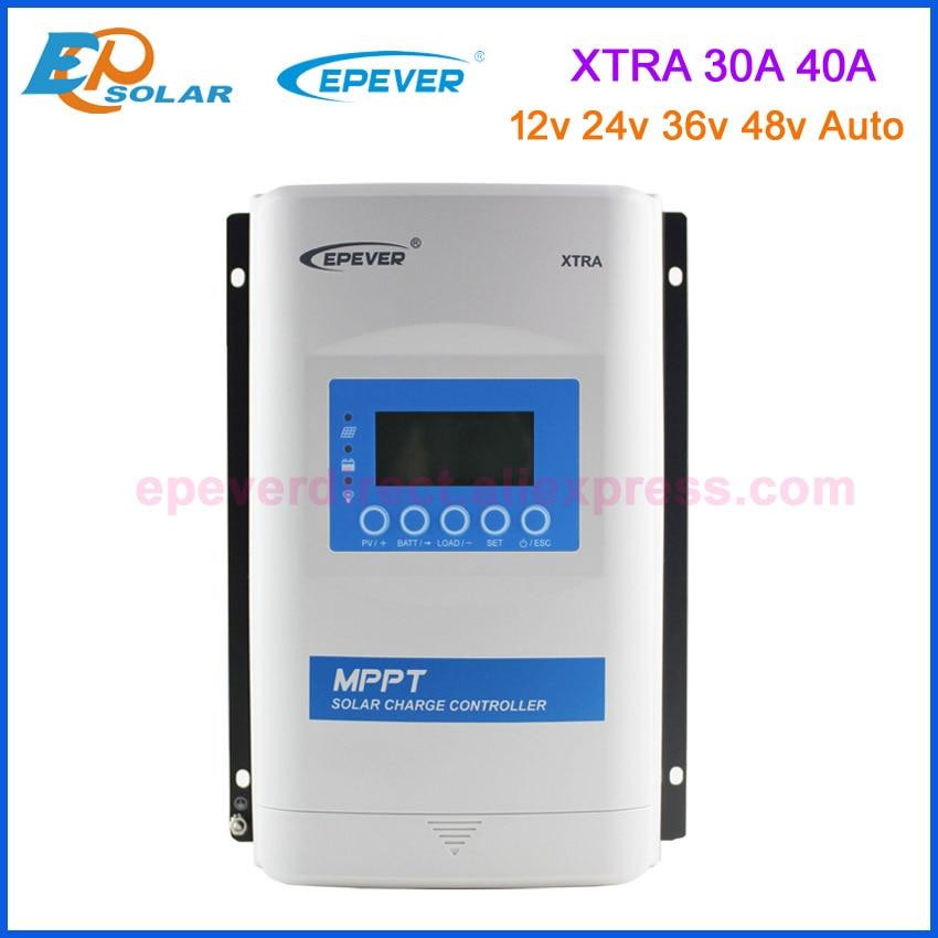 EPEVER-وحدة تحكم الشاحن الشمسي ، 30A 40A 48V MPPT ، 12v ، 24v ، 36v ، 48v ، منظم الطاقة الشمسية للعمل التلقائي ، XTRA3415N ، XTRA4415N ، جديد