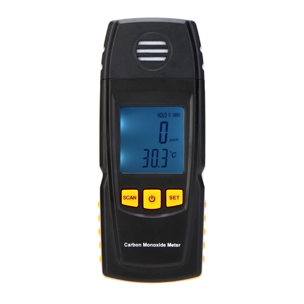 Medidor de monóxido de carbono portátil, medidor Detector, analizador de gas infrarrojo, probador de Gas CO 0-1000ppm
