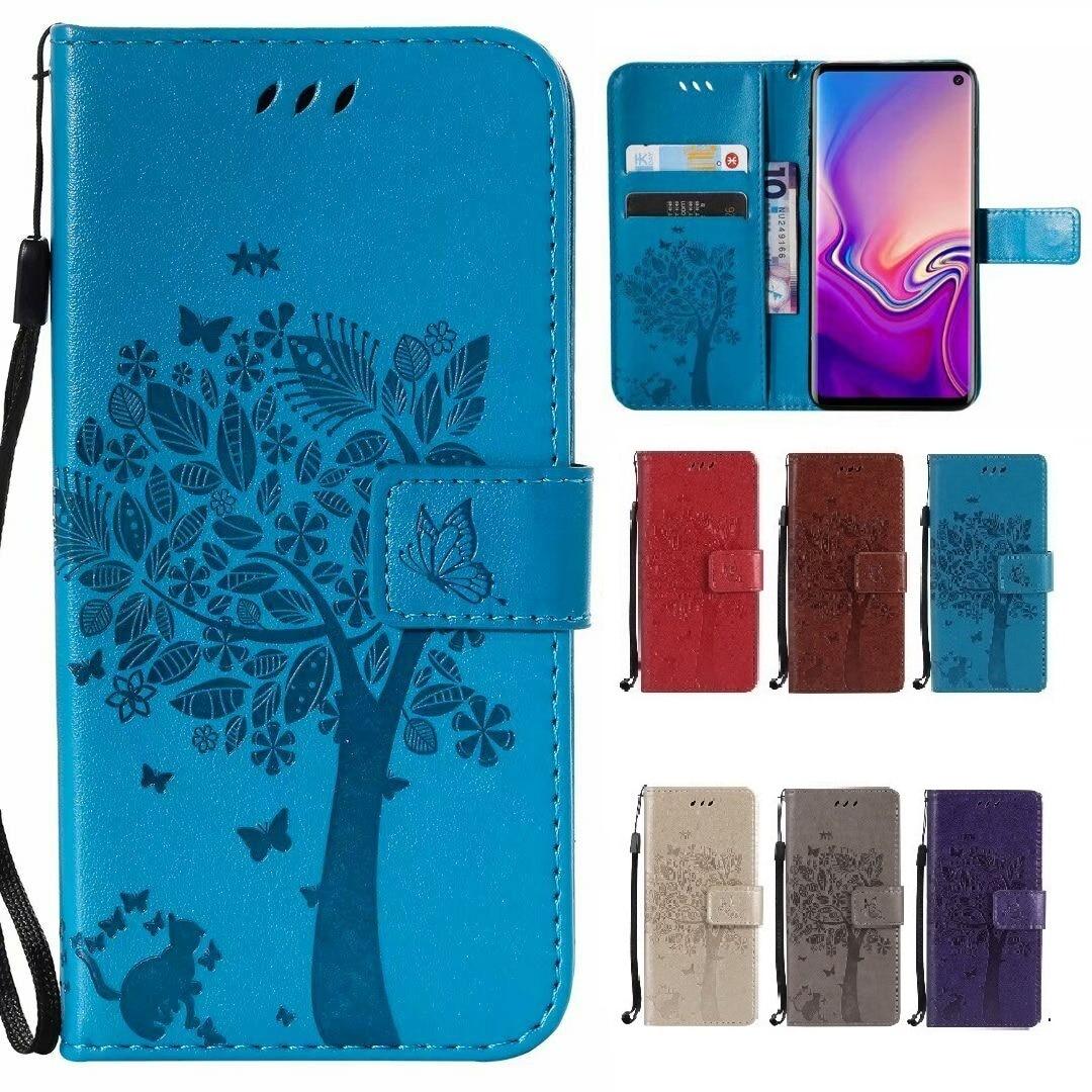 Moda de lujo para Doogee N20 Y8 Y8C funda con Tapa de cuero PU funda de teléfono con cartera para Doogee Y9 Plus