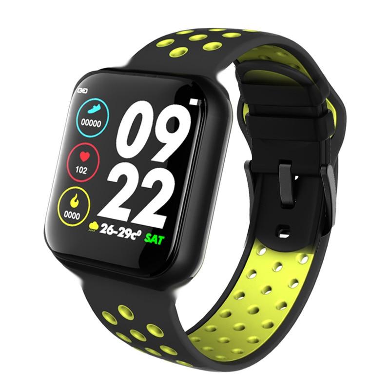 F8 Bluetooth Smart Watch Heart Rate Monitor Calories Fitness Tracker Alarm Clock IP67 waterproof Smart Bracelet Sport S226 42mm