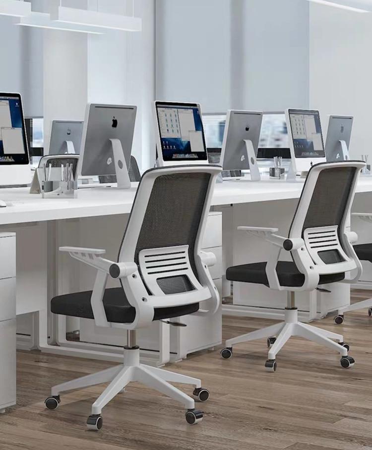 Удобное компьютерное кресло, офисное кресло с колесами, подъемное поворотное кресло, стул для Конференции, домашние рабочие стулья для учеб...