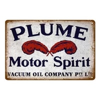lion tiger motor oil metal poster vintage metal tin signs for pub bar garage gas station decorative iron plates wall stickers