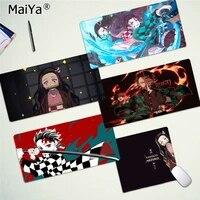 maiya my favorite demon slayer kamado nezuko gamer play mats mousepad free shipping large mouse pad keyboards mat