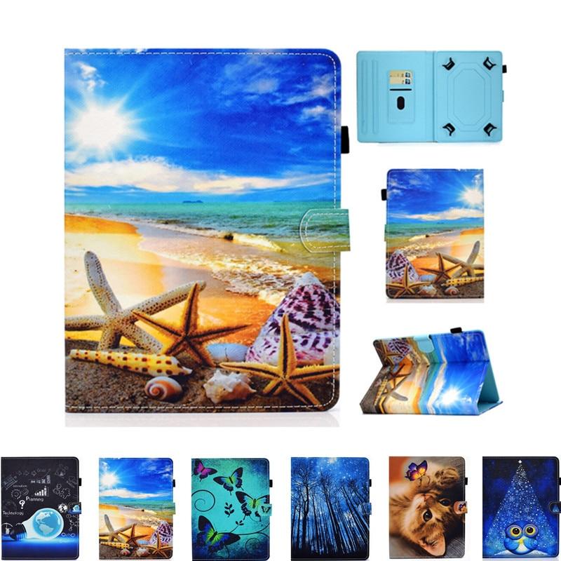 Housse pour Samsung Galaxy Tab A6 E 4 3 2 7.0/Lenovo Tab E7 4 3 2 7 /Huawei Mediapad T3 T2 T1 7.0 7 pouces tablette étui universel