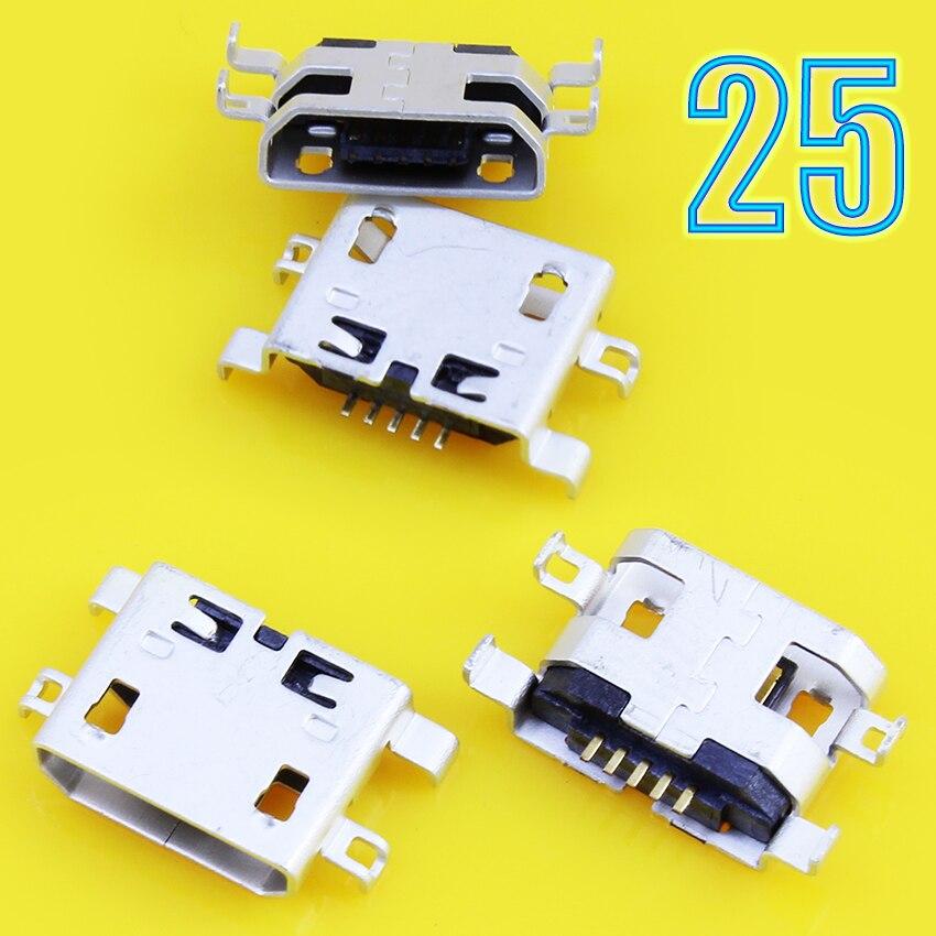 JCD Melhor preço 5-pin jack Micro usb carga tomada para Lenovo S720 A298T S890 S880 P700 A710E...