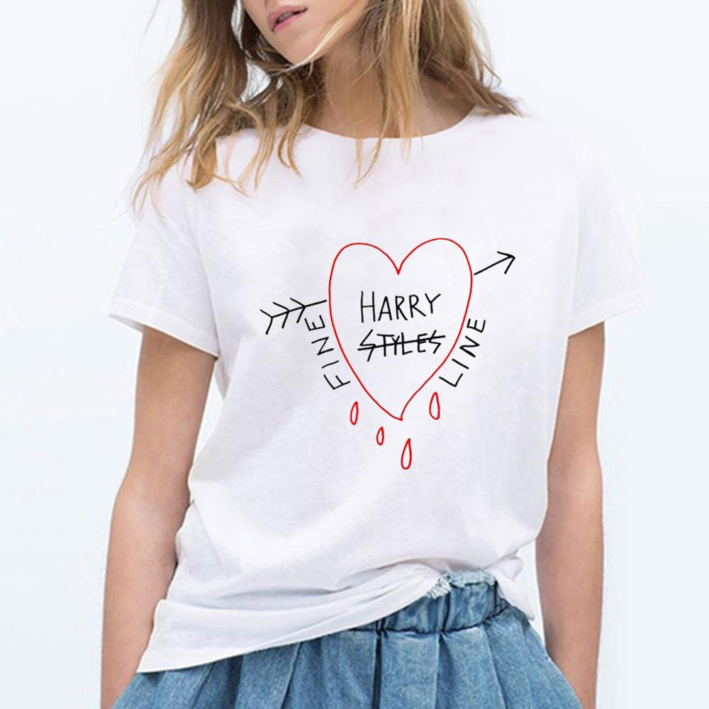 Camisetas de estilo Hip Hop de Harry Hop, camiseta gráfica Vintage, camiseta Harajuku Ullzang, camiseta para mujer, Camiseta extragrande, divertida estética