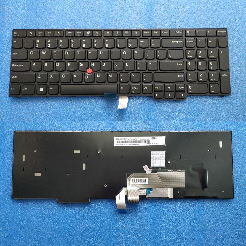 جديد الأصلي لنا لوحة المفاتيح لباد E570 E575 FRU 01AX120 01AX160 01AX200 PN SN20K93288 PK1311P1A00 PK1311P2A00 PK1311P3A00