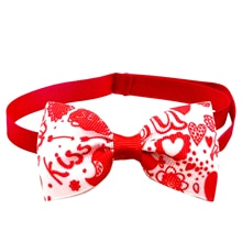 Pet Bow Tie Cute Beautiful Supplies Accessories For Holiday Valentine Day Pet Love Cupid Cat Dog Bow