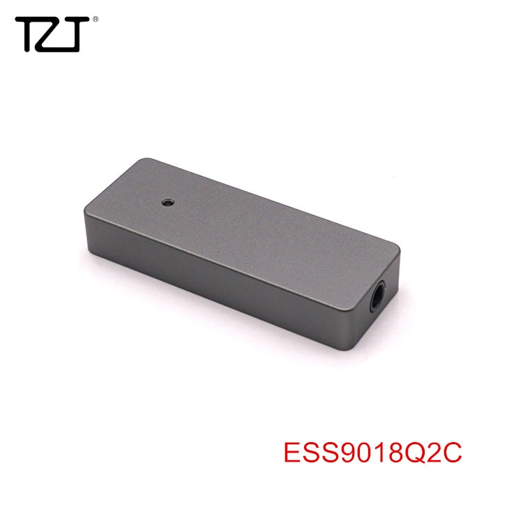 AMPLIFICADOR DE AURICULARES portátil TZT HiFi ESS9018Q2C auriculares DAC Amp 384 KHz/32Bit para iPhone Android