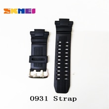 SKMEI Strap Men Watches Black Wrist Silicone / PU / Plastic /Leather Belt For Women Men Watch SKMEI Band SKMEI 1251 Strap