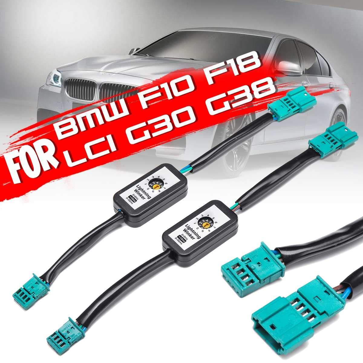 Faisceau de câbles pour BMW F10 F18 Lci G30 G38illight   Signal de retournement dynamique gauche et droit, Module dessayage pour feu arrière