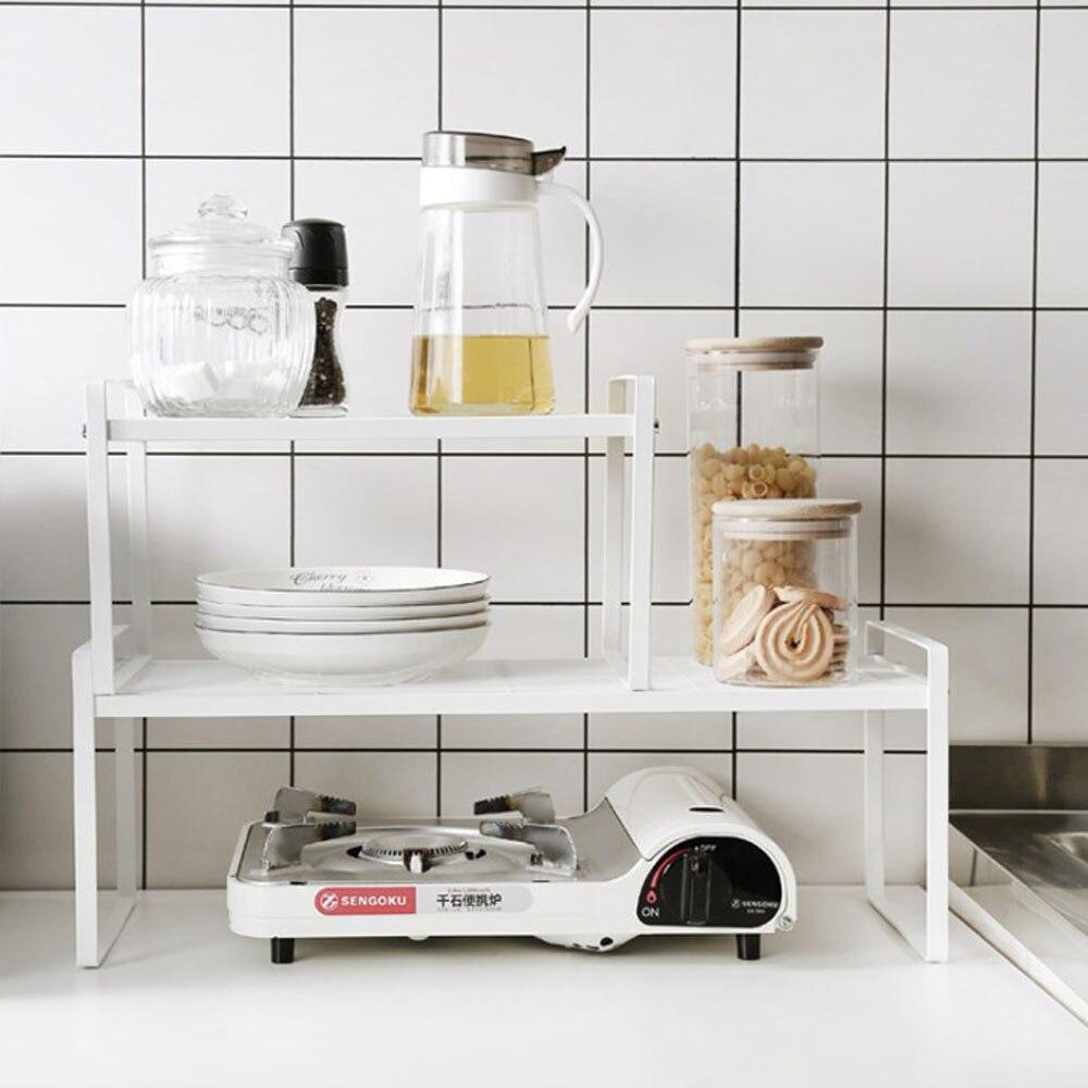 منظم مطبخ رف توابل مكافحة الأعلى تخزين الرف للحمام RV