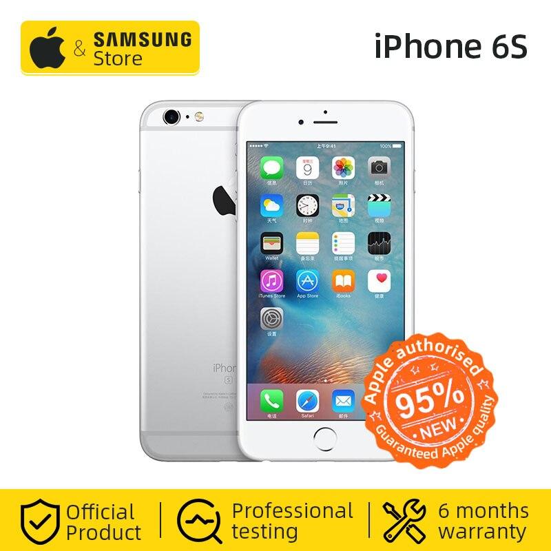 Original Apple iphone 6s IOS Smartphone 2GB RAM 4,7 pulgadas 12MP cámara trasera de 4G LTE teléfono móvil NFC VoLTE (utilizado 95% nuevo)