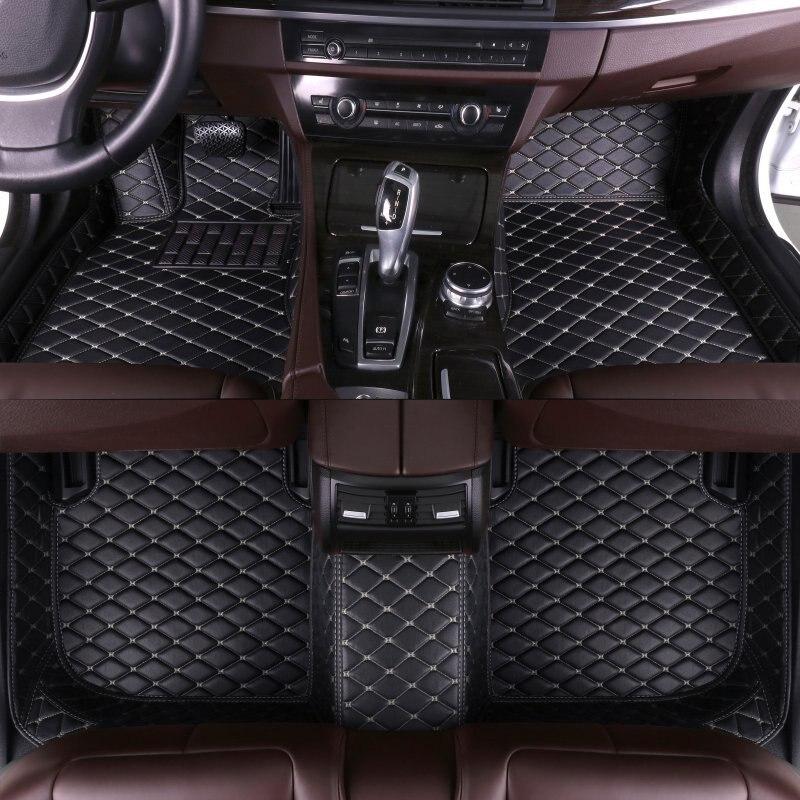 Custom Car Floor Mats for Mitsubishi All Models outlander pajero grandis ASX pajero sport lancer galant Lancer-ex